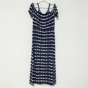 OLD NAVY | Maxi dress with cold shoulders